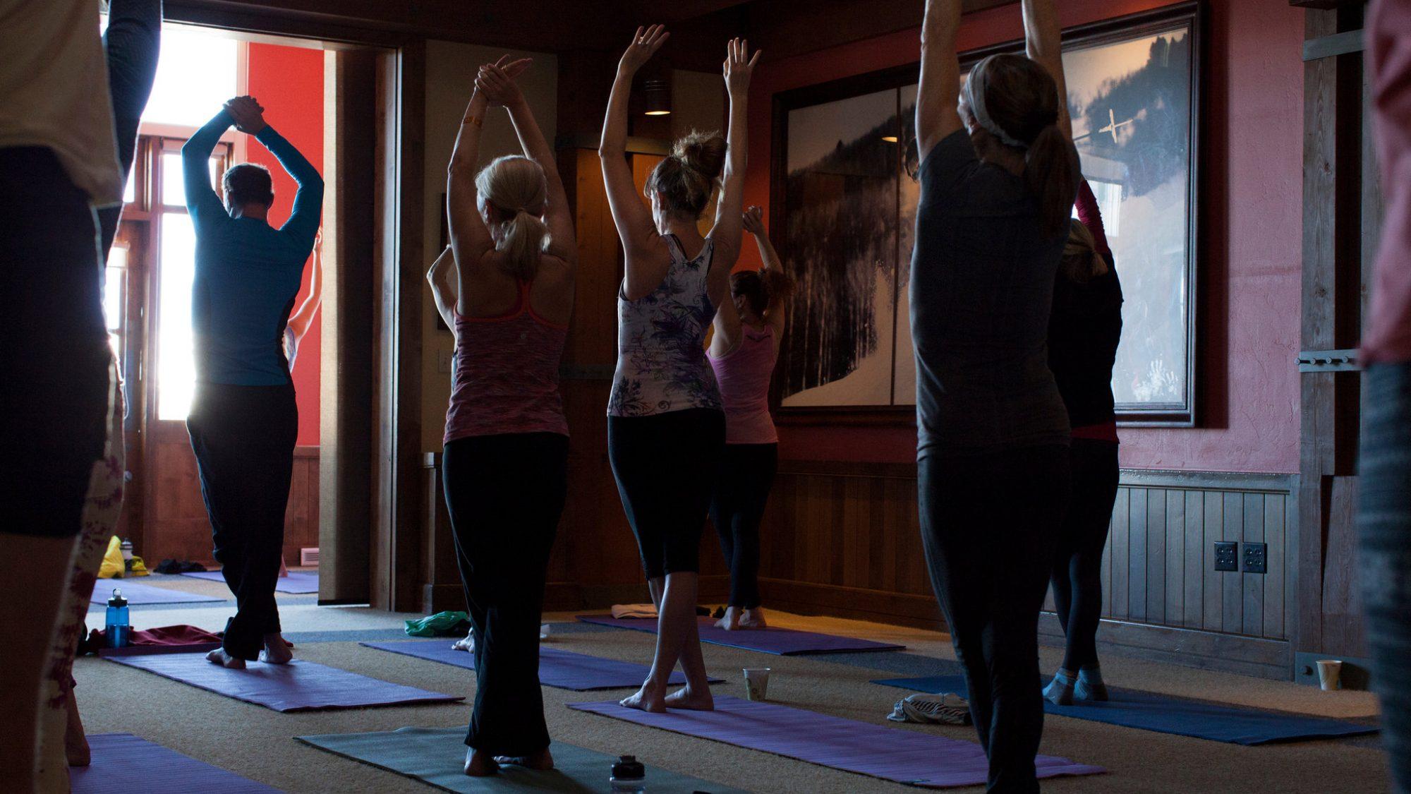 nearest yoga center